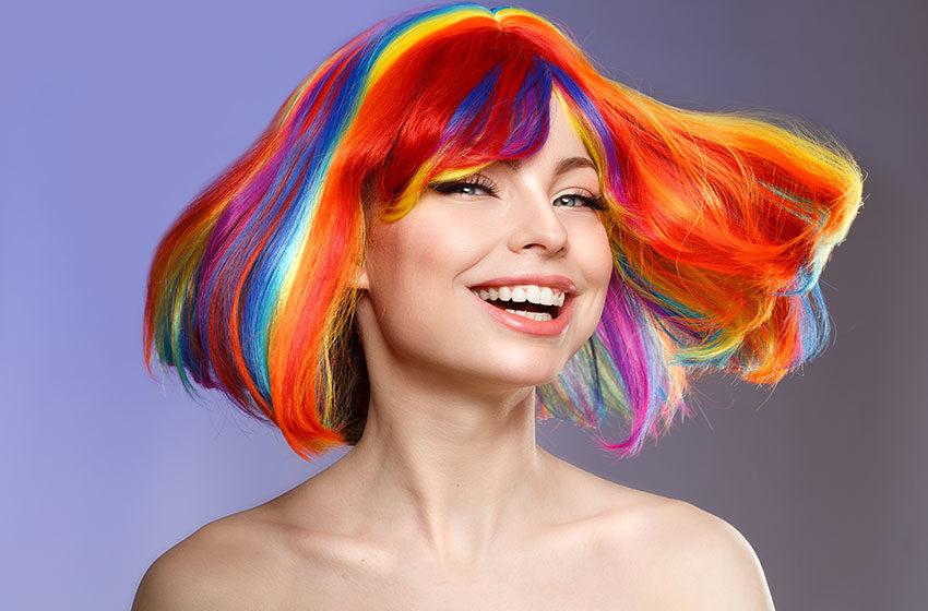 انواع رنگ مو و ترکیب آن