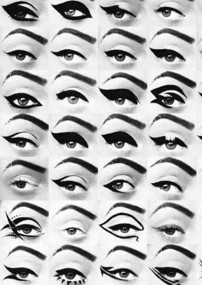 انواع مدلهای خط چشم-خانومی