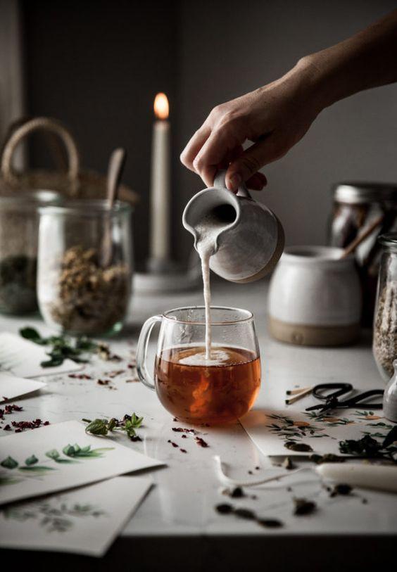 نابودی پفها با چای